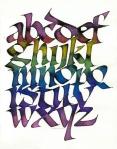 Bone Alphabet