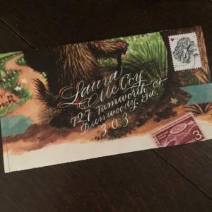 Anne Elser S Elegant Envelopes Paper And Ink Arts Blog: anne elser calligraphy