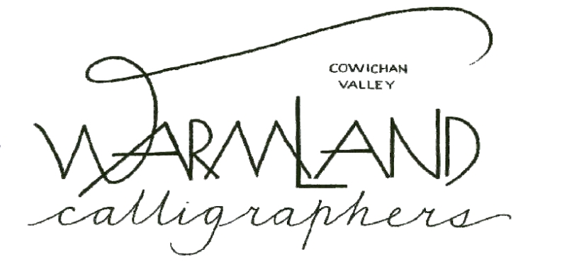 warmland calligraphers logo